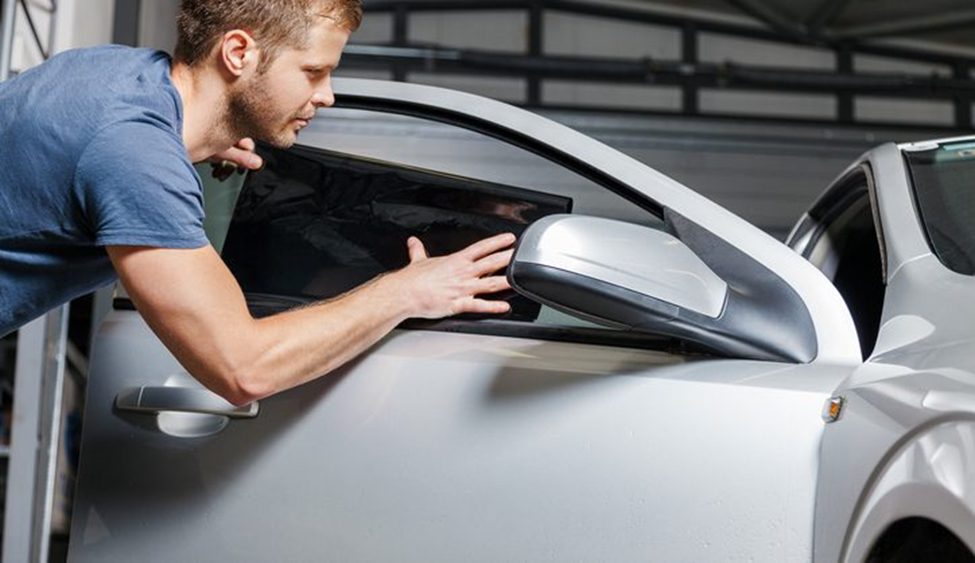 Auto tinting involves fitting a darkened sheet of film to a vehicle's glass to block visibility. This can include all four side windows and the front and rear windshield. Auto tinting should always be done by a professional, and Breezy Point Auto Body provides the best auto window tinting in Stratford, CT. There are many reasons you may want to tint your car windows including comfort, health concerns, safety and privacy, and preserving the condition of your car. Some people just like the sporty look that tinting gives their vehicle.