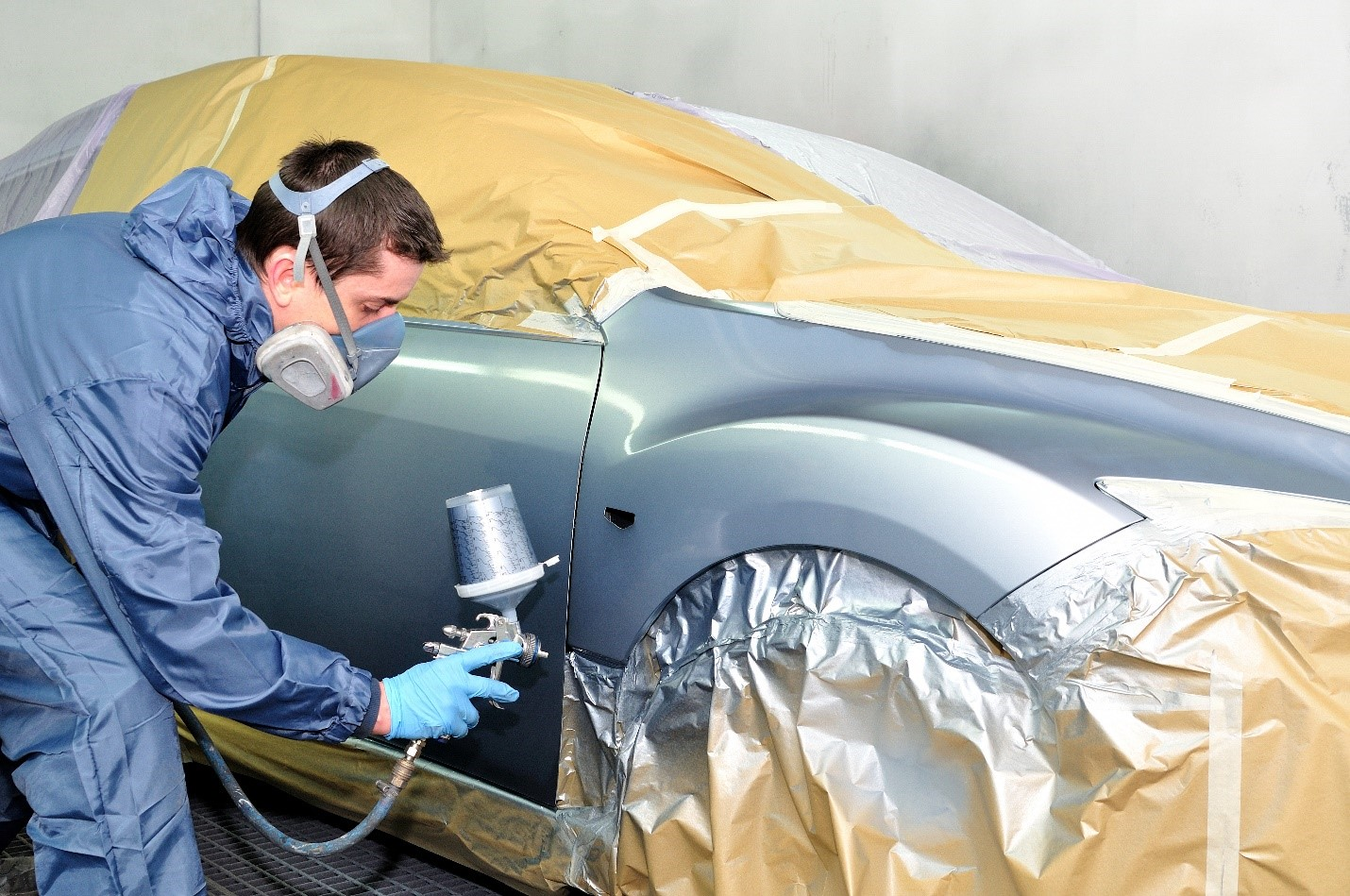 Breezy Point Auto Body uses environmentally-friendly waterborne paint and an infrared paint-drying process that allows us to return your vehicle more quickly than traditional auto paint techniques. Our skilled technicians can help you find the perfect color for your vehicle.